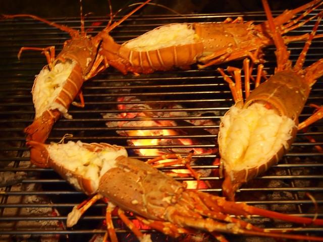 BBQ lobster Kamala Beach