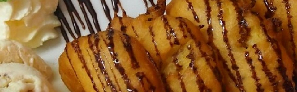 Banana fritters kamala beach restaurant